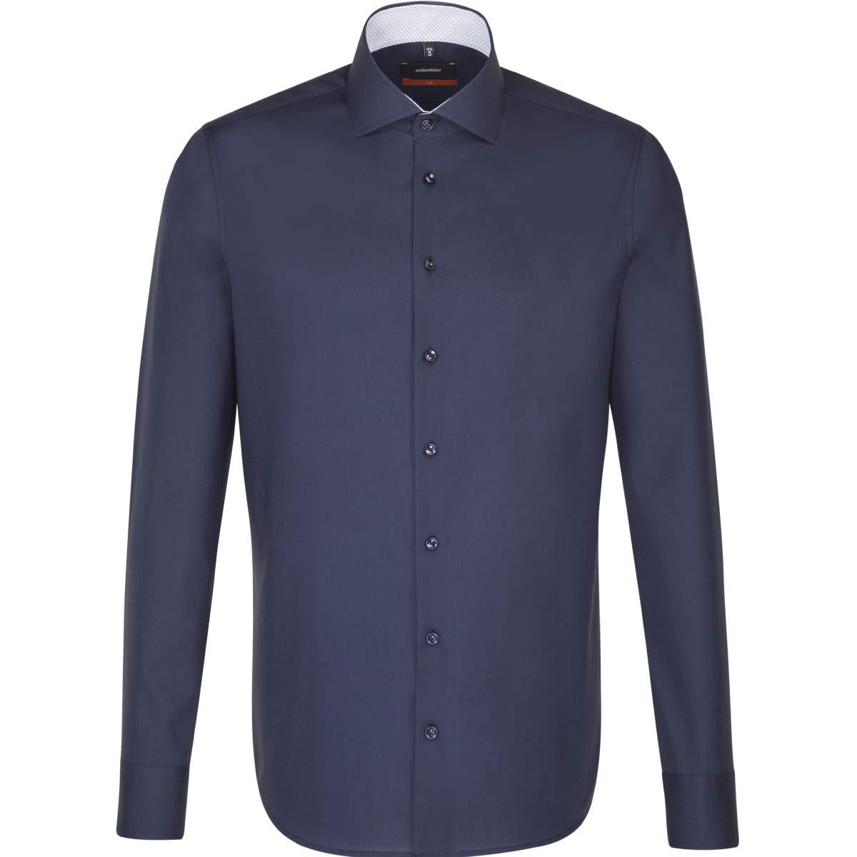 Seidensticker - Camisa Formal - Liso - Clásico - Manga Larga - para Hombre