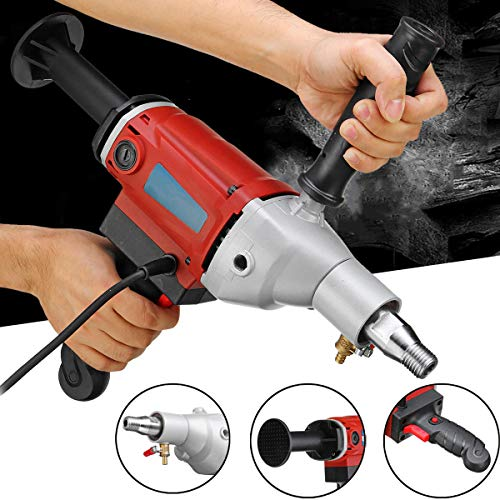 2100W 220V Handheld Variable Speed Diamond Core Drilling Machine Wet Dry Core Drill Rig for Concerte