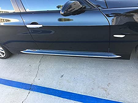 Sizver Chrome Universal Side Skirt Trims Universal FitNEW STYLE UNIVERSAL FIT168cm//5.5 foot
