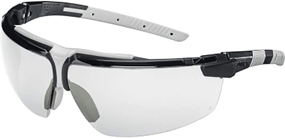 Gafas de Seguridad Uvex i-3 - Gafas Protectoras sin Metal con Lentes Transparentes - Protección Ocular UV 400