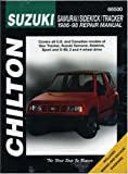 Suzuki Samurai, Sidekick, and Tracker, 1986-98 (Chilton Total Car Care Series Manuals)