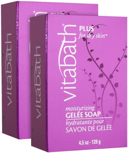 4.5 Ounce Moisturizing Gel (Vitabath Plus for Dry Skin Moisturizing Gelee Soap - 4.5 oz - 2 pk)