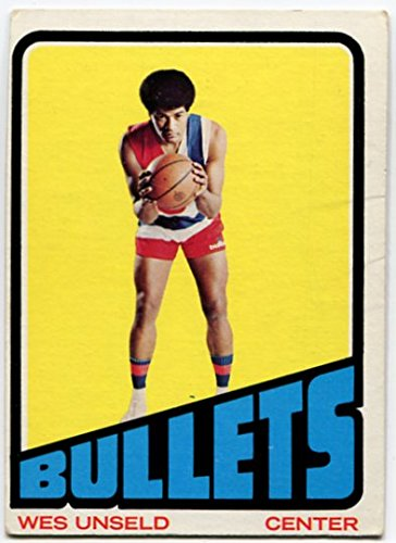 (1972/73 Topps Wes Unseld Card #21 Baltimore Bullets Louisville)