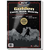 BCW-BBGOL -Golden Age Size Comic Backing Boards - (100 Boards)