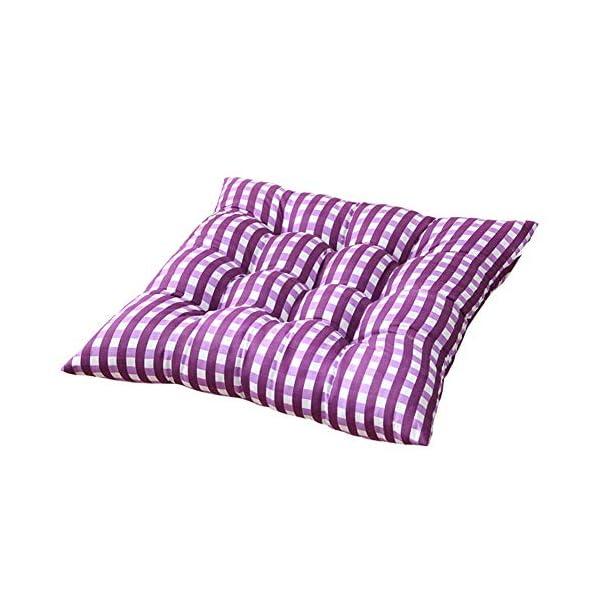 WDOIT - Cuscino per Sedia, particolarmente Imbottito, per mobili in Rattan, da Giardino, Stile 3, 40 * 40cm 1 spesavip