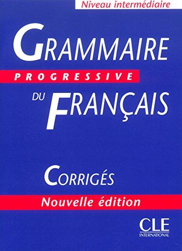 grammaire progressive du francais niveau avance answer key pdf