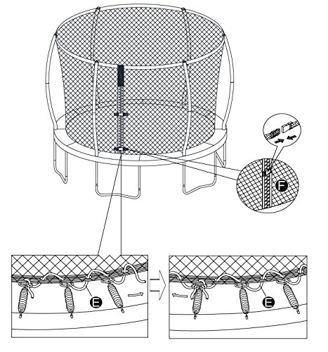 Trampoline Part Store 15' Replacement Trampoline Safety