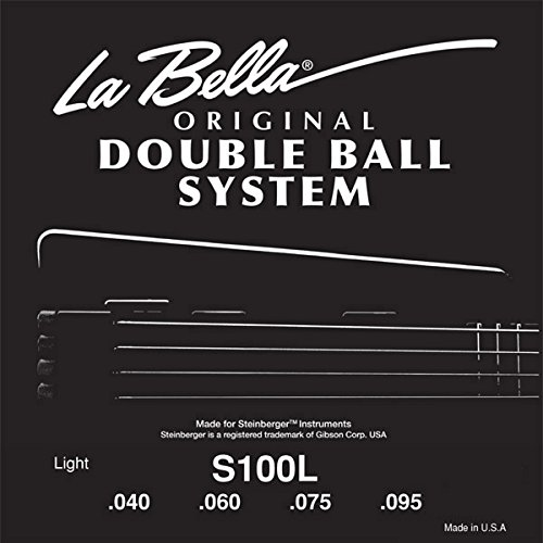 (La Bella Steinberger Electric Bass Strings - Light, 1 set )