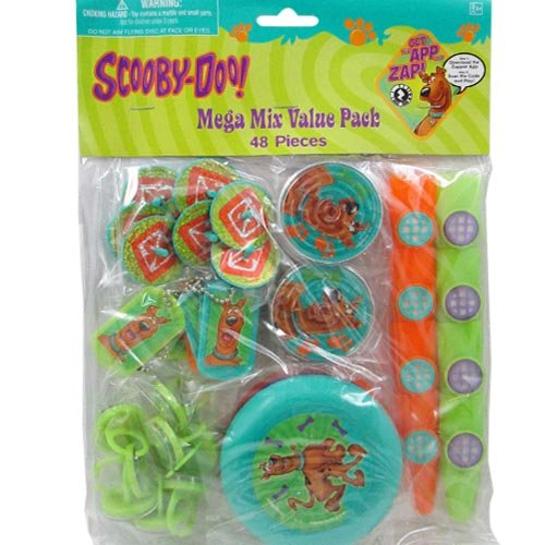 Scooby-Doo Where Are You! 48 Piece Favor Kit by Design Ware-Amscam (Scooby Doo Party Favors)