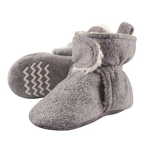 Hudson Baby Sherpa Booties Bottom product image