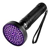 LE LED UV Flashlight 100 LED Ultra Violet Blacklight Pet Urine Stain Detector Handheld Light for Home Hotel Inspection