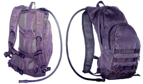 Tactical Hydration Back Pack Black, Outdoor Stuffs