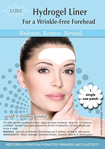 Wrinkle Filler and Remover with Vitamin E - Best Quality - Smoothes Forehead, Chest & Frown Lines – Moisturizes & Reduces Existing Wrinkles, Helps Prevent New Creases - for Women and Men - 1 patch