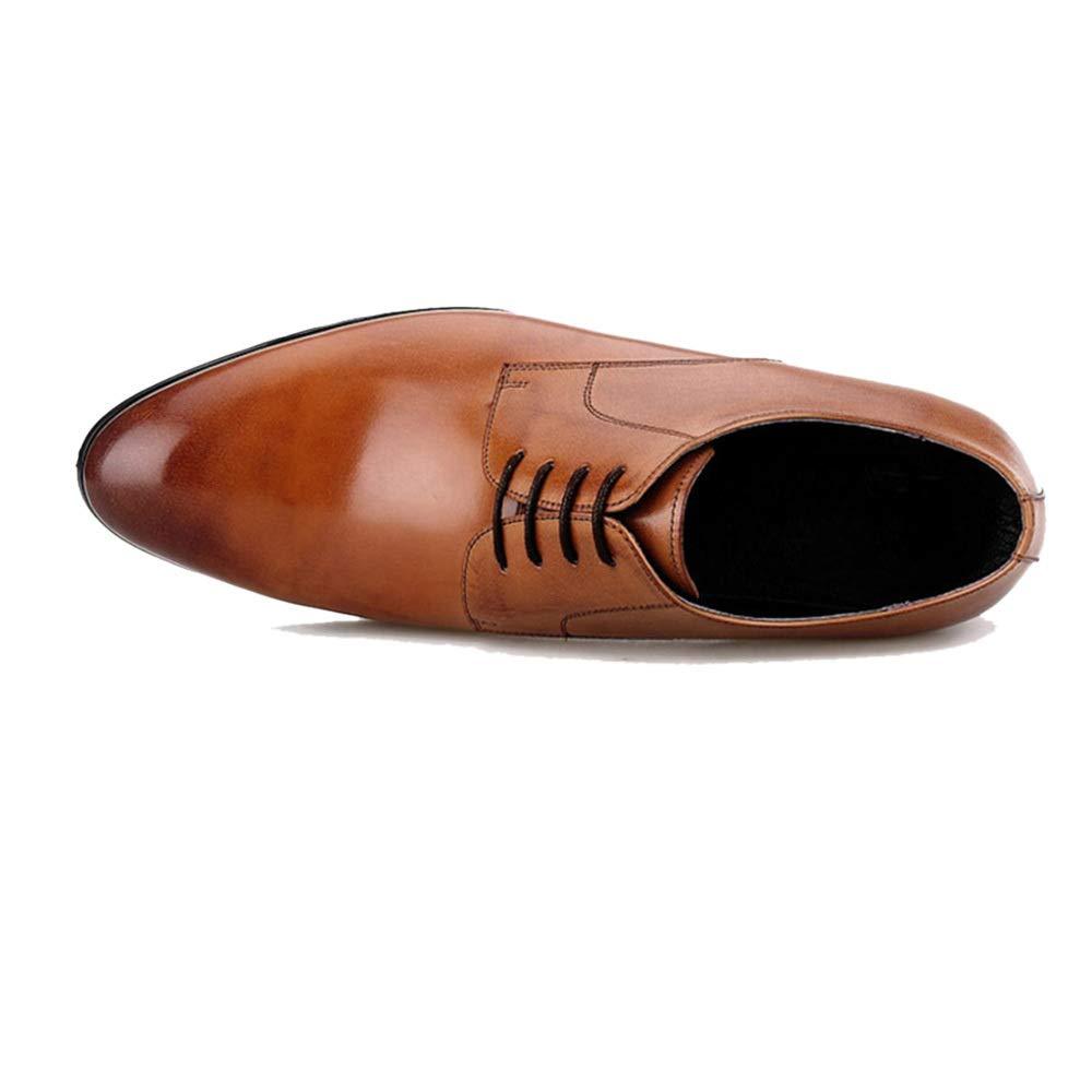 Spitze Herren Braun, Lederschuhe British Business Handgemacht Braun, Herren Schwarz, Senden Gürtel, Eine, Jeder Stil Braun dd25e1