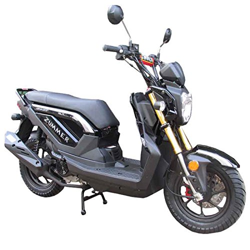51FK1BYqC L amazon com 50cc gas street legal scooter taotao atm50 a1 black  at readyjetset.co