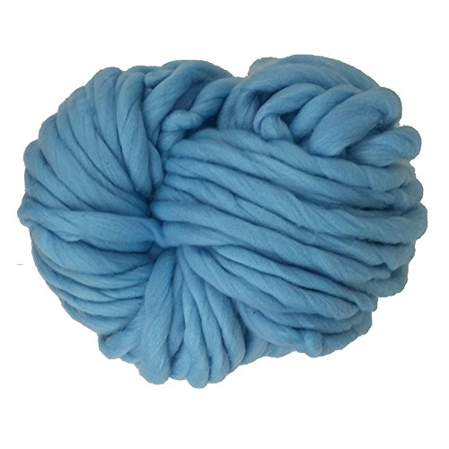 Oak-Pine 250g Thick Acrylic Yarn Ball Cosy Smooth Knitting Wool for Hand-knitted Works Crochet Crafts Such as Snood Sweater Scarf Pet Bed Blanket, 25 Meters of Yarn, Large Variety of Colors as Shown