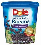 Dole Raisins, 18 oz