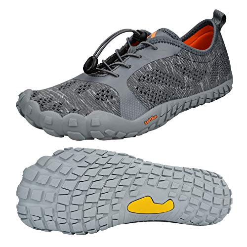 Pictures of QANSI Men's Slip-on Quick Drying Grey 7.5 M US 1