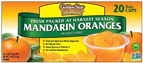 Canned Fruit: Golden Star