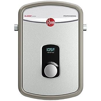 rheem rtex 13 240v heating chamber residential tankless water heater