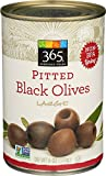 365 Everyday Value Pitted Black Olives Large, 6 oz
