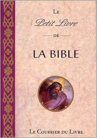 Le Petit Livre De La Bible Anonyme 9782702903995 Amazon