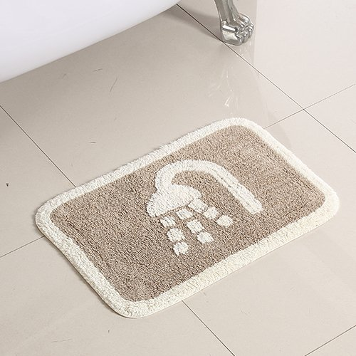 Bathroom mats floor mats door mats toilet water skid pad -5080cm a by ZYZX