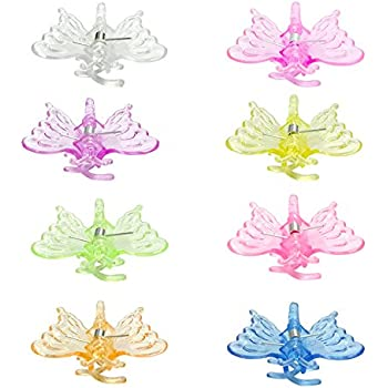 Amazon Com Kinglake 40 Pcs Orchid Clips Butterfly Orchid Support