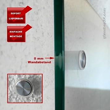 Häufig glasshop24 Edelstahl Befestigungsset 0mm für Glas-Küchenrückwände DK46