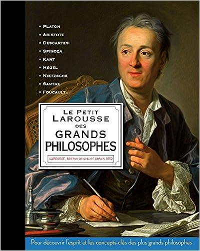 Livres Le Petit Larousse des grands philosophes pdf, epub ebook