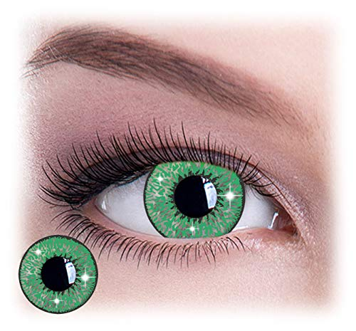 Womens Pair Eye Color Change Eye Accessories Mystic Green Glimmer -