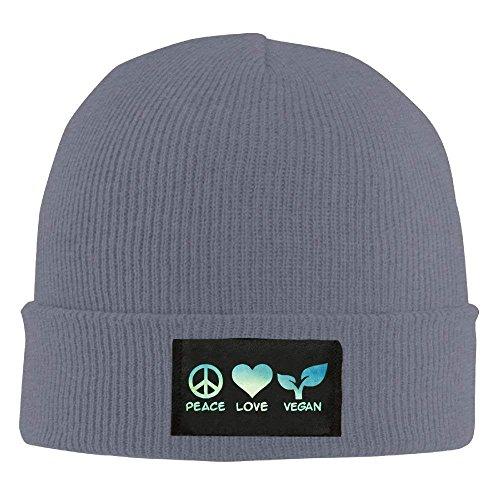 zengjiansm Hat Love 100 Hats Warm Knit Unisex Asphalt béisbol Soft Gorras Acrylic Peace Beanie Daily wpxawr0q