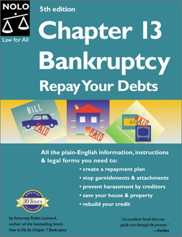 Chapter 13 Bankruptcy: Repay Your Debts, Fifth Edition ebook
