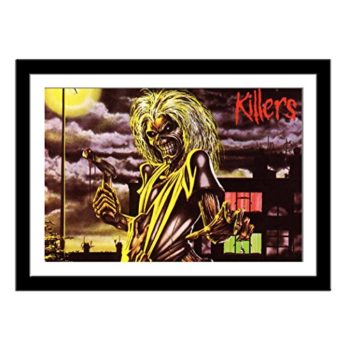 Custom Iron Maiden Killers Framed Art Print Poster 13X18 Inch Home Decor Wall Hanging Collectibles Fine Art Prints (Iron Maiden Killers Poster compare prices)
