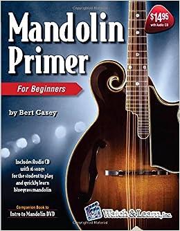 Amazon com: Mandolin Primer (Book & audio CD) (9781893907331): Bert