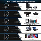 RUNMUS Stereo Gaming Headset for PS4, Xbox