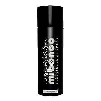 Favorit mibenco 71419010 Flüssiggummi Spray / Sprühfolie, Weiß Glänzend ZU69