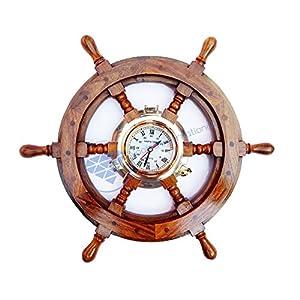 51FK5xgqS-L._SS300_ Coastal Wall Clocks & Beach Wall Clocks
