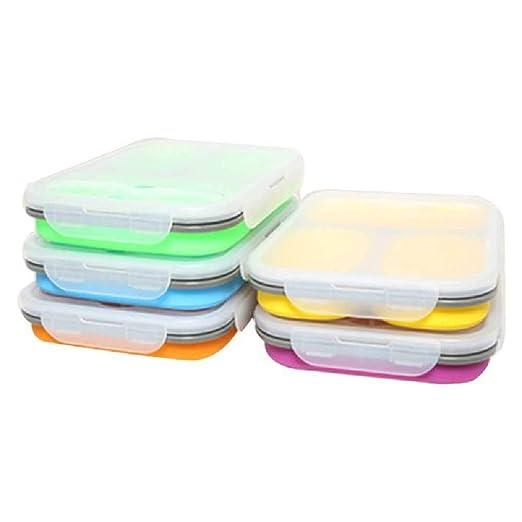 Casiz Ultimate Bento Caja de fruta de comida, caja de sushi ...