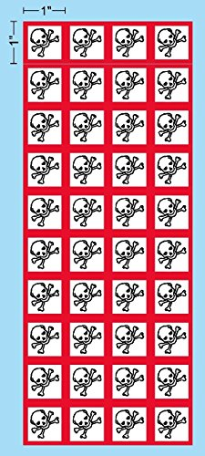 Accessories Ghs (I Make Decals - GHS Toxic, Skull, Skull and Crossbones, Pictogram, 1