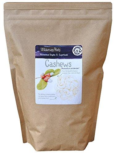 Wilderness Poets Cashews - Organic Raw Cashews, 10 Pound (160 Ounce)