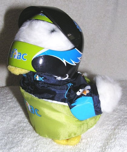talking-6-plush-aflac-duck-race-car-driver-with-helmet-hard-to-find