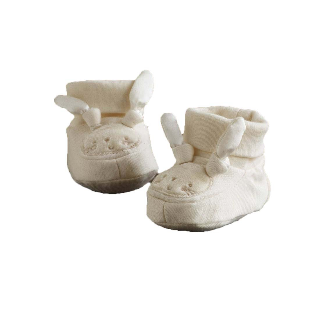 Pure Love Bunny Booties 0-6 Months Natures Purest