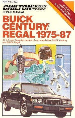 Century/Regal 1975-87 (Chilton's Repair Manual)