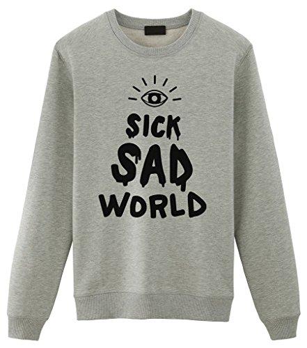 Fellow Friends - Daria Sick Sad World Unisex Sweater X-Large Grey