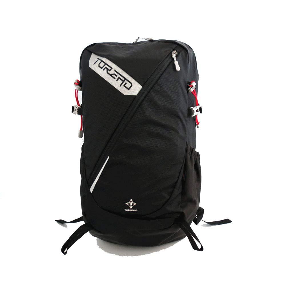 アウトドアリュックサック, 30L ハイキングバックパック男女兼用サイクリングスポーツデイパック軽量耐久登山バッグ,Black,52*30*19cm B07MGV7J1W Black 52*30*19cm