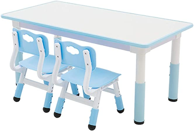 Mesas y sillas de jardín de Infantes, Mesa y sillas para niños, Mesa de Estudio para el hogar/Mesa de Juegos de Juguete: una Mesa y Dos sillas/Graffiti: Amazon.es: Hogar