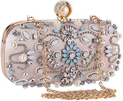 ハンドバッグ - ヨーロッパやアメリカのファッション野生のダイヤモンドのイブニングバッグ、ダイヤモンド宴会クラッチ、ショルダーチェーンハンドバッグ よくできた