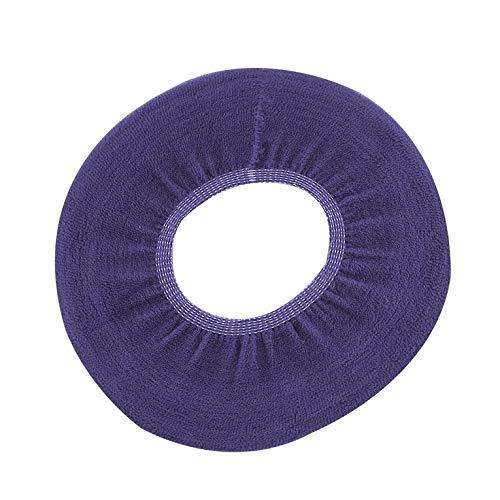 Casuale Goldyqin 1pc Lavabile Confortevole Panno a Forma di o Caldo coprivaso coprivaso Pad per Bagno casa Bagno igienici Cuscino pastiglie