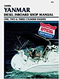 Yanmar Diesel Inboard Shop Manual One, Two and Three Cylinder Engines, Clymer Publications Staff, 0892877553